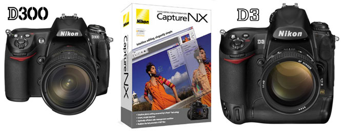 Free Nikon Capture NX with Nikon D300 and D3 (first 300k units) – DR KOH