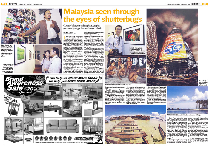 PhotoMalaysia Exhibition at The Star Newspaper | DR KOH KHO KING