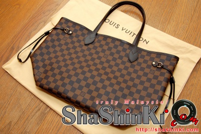 8093553ed74d Louis Vuitton (LV) Damier Neverfull MM Bag N51105   Authentic or ...