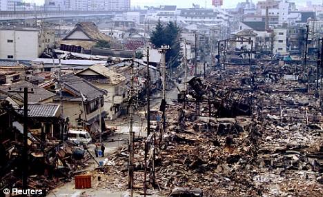 japan earthquake 2011 tsunami. Japanese is a very organised