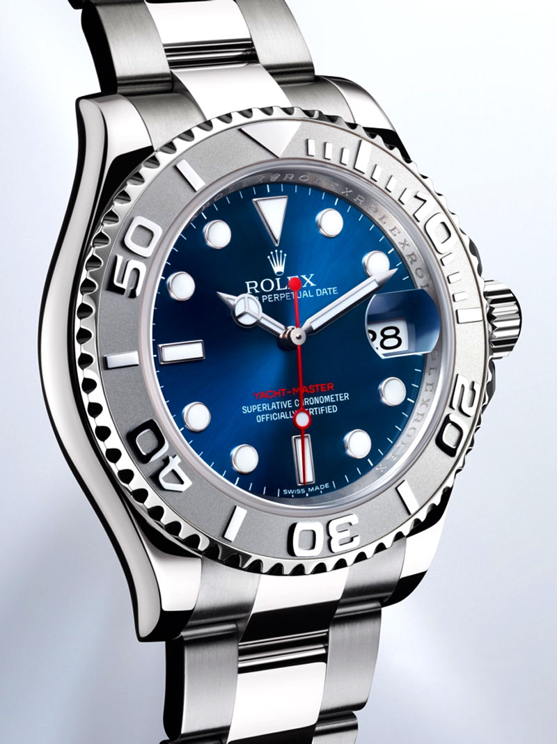 Rolex Yachtmaster Platinum Blue Dial