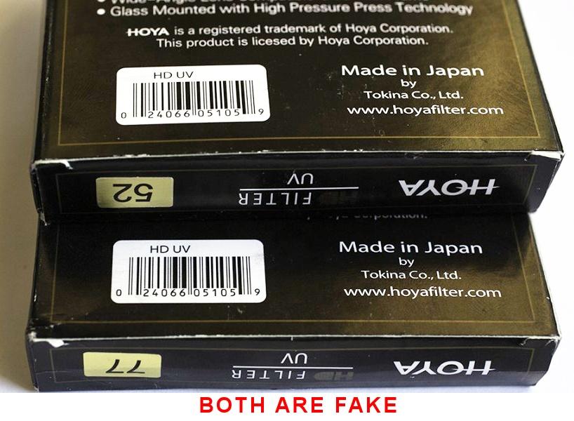Detecting Fake Hoya Filter Is Your Hoya Genuine Dr Koh