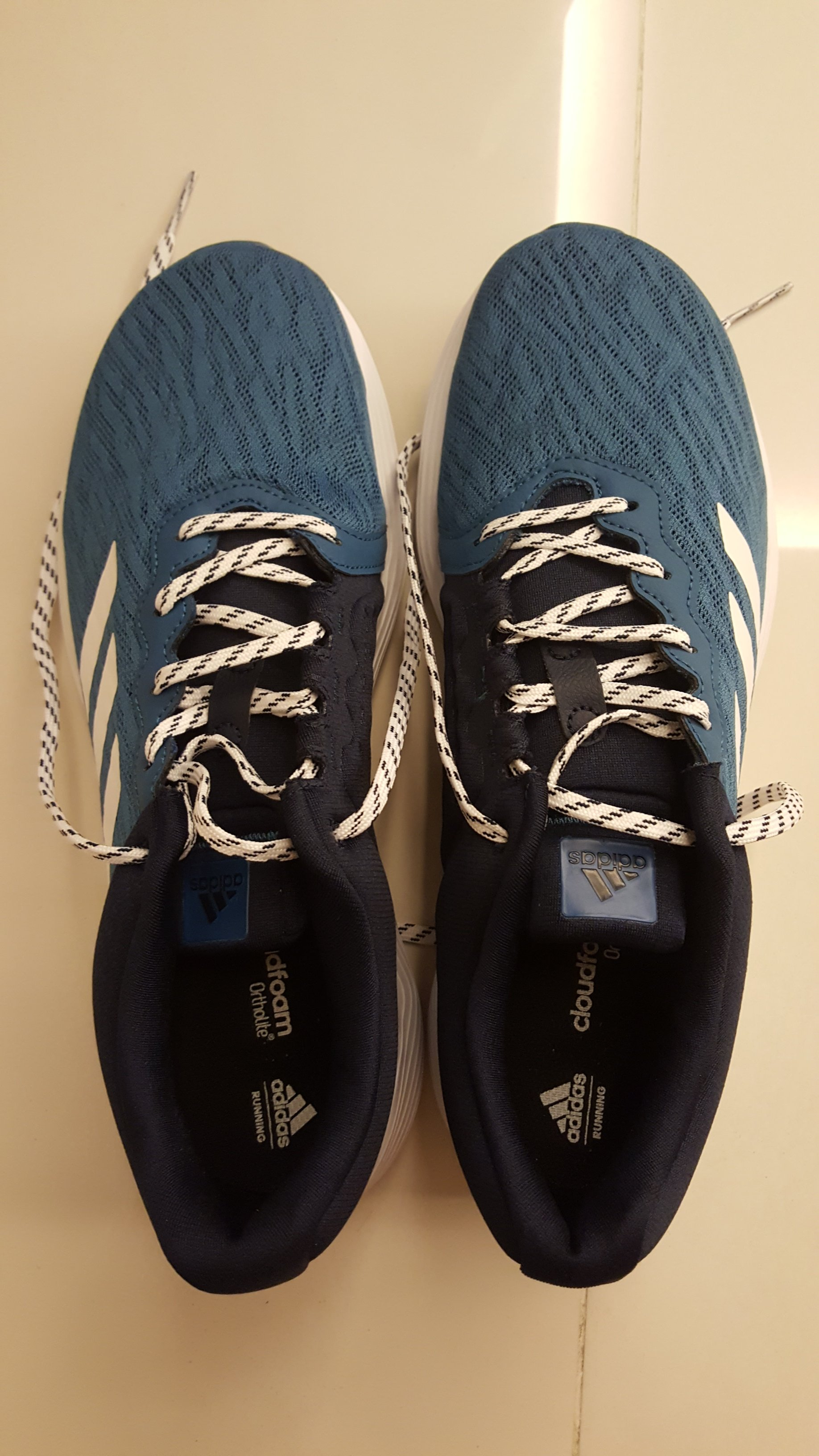 bordado Credencial barrer  Adidas Cloudfoam Ortholite, my new running shoe – DR KOH