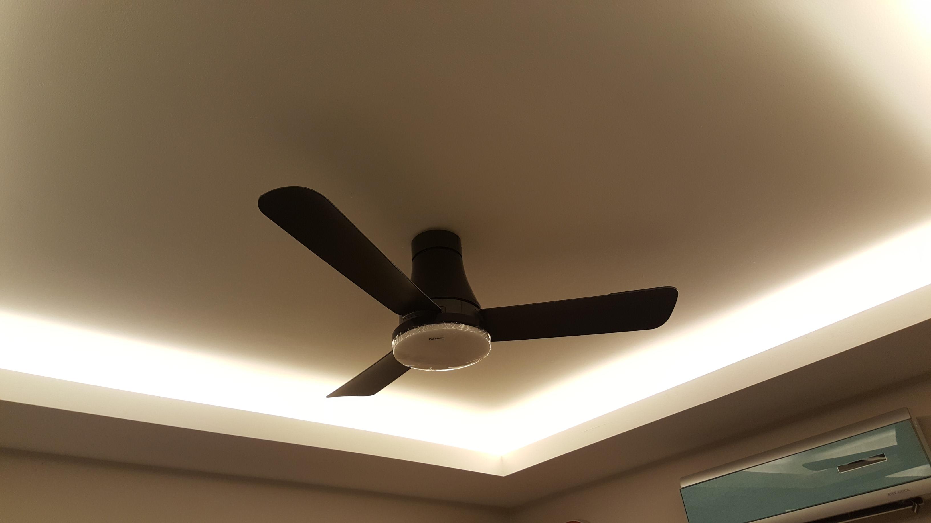 Dining room fan changed Panasonic LED 3 Blade Ceiling Fan F M12GX