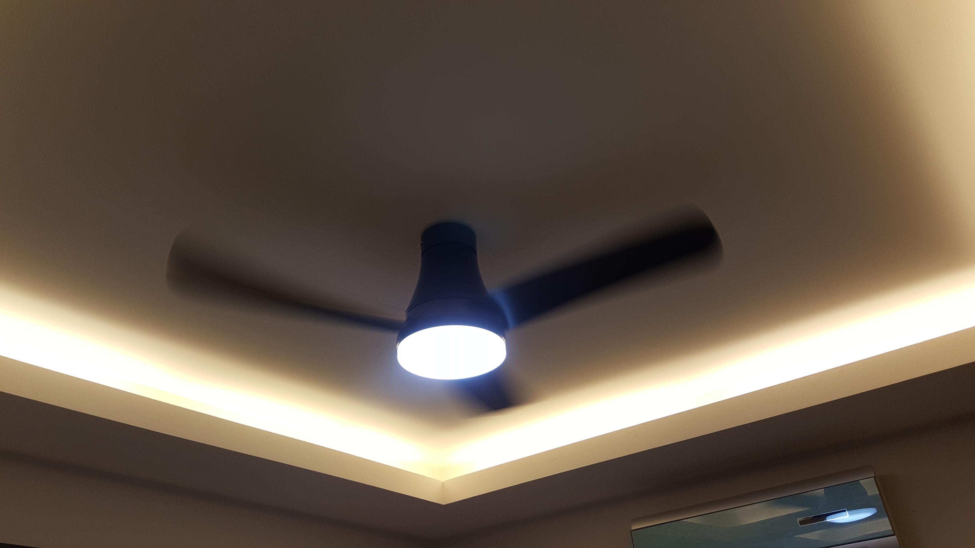 Dining Room Fan Changed Panasonic Led 3 Blade Ceiling F M12gx Vbhqh 48