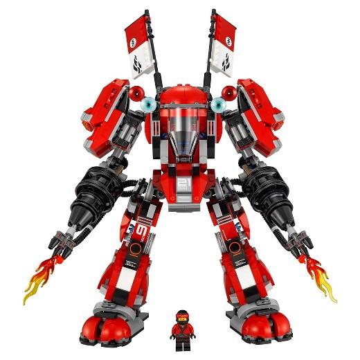 Christmas Boy, Emmanuel 2017 Present – LEGO Fire Mech 70615 | DR KOH