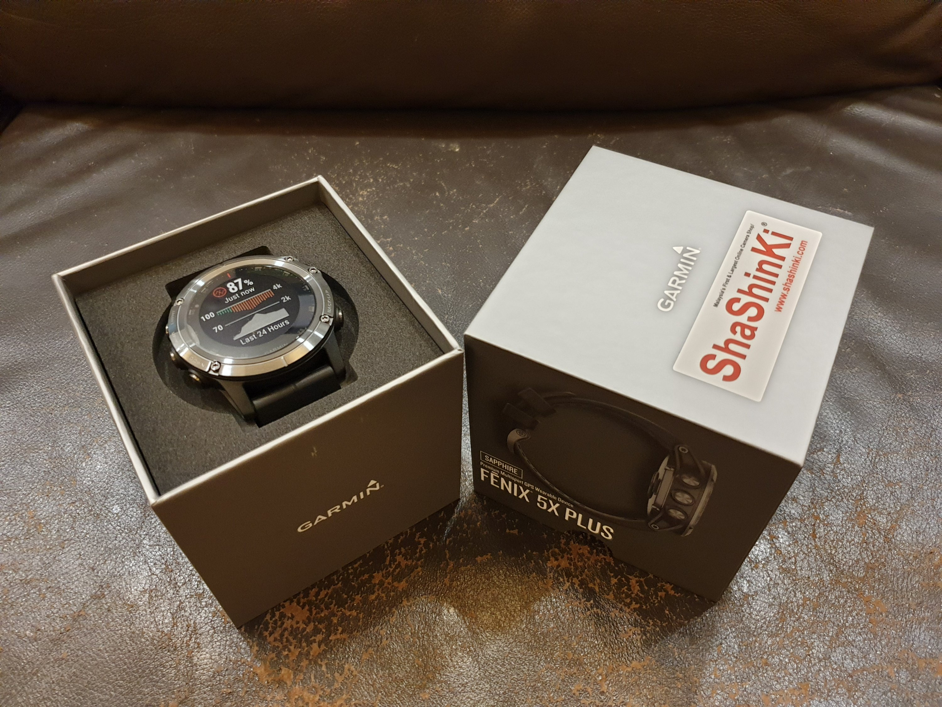 My Dream Watch Garmin Fenix 5x Plus Comes True Dr Koh