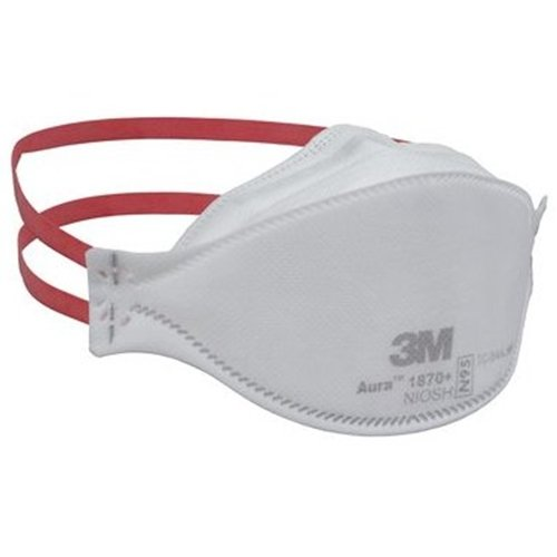Mask 3m Surgical 1870 20 Pieces Particulate Care And Respirator Per Health Box