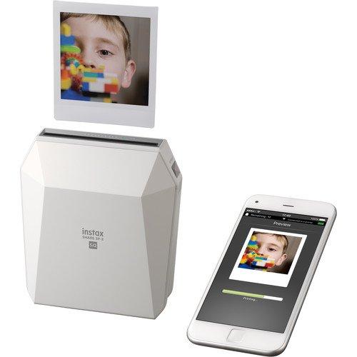 Fujifilm instax SHARE SP-3 Smartphone Printer with SQUARE Film Kit (White) ( Fujifilm Malaysia) - Printers - ShaShinKi