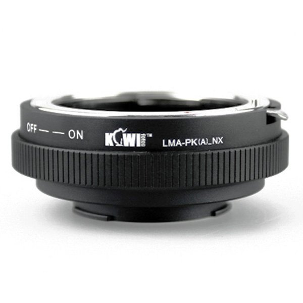 Kiwifotos Pentax K Lens to Samsung NX Camera Body