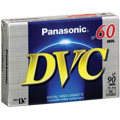 SP 60// LP 90 Panasonic DVM60 Mini DV Digital Video Cassette Linear Plus