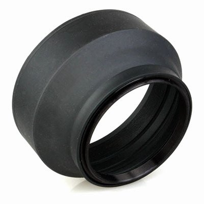 Phottix 62mm 3-Stage Collapsible Rubber Lens Hood for Lenses with 62mm Front Filter Thread