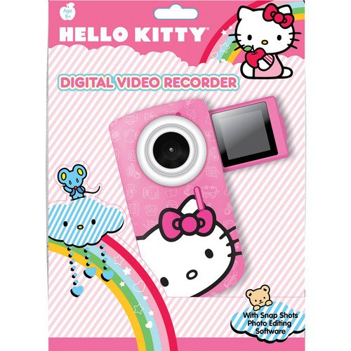Sakar Hello Kitty Digital Video Recorder (Pink) (for Children / Kids)