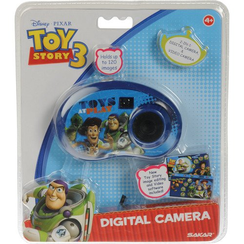 Sakar Toy Story 3 Digital 2-in-1 Camera (for Children / Kids)