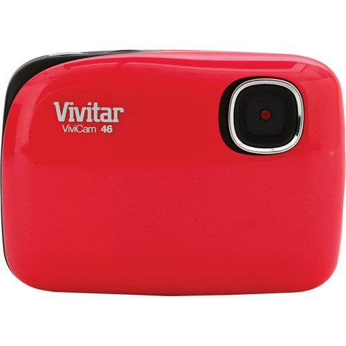 Vivitar ViviCam 46 Digital Camera (Red)