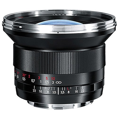 Zeiss 18mm f/3.5 ZE Distagon T* Wide Angle Lens Canon EF Mounts
