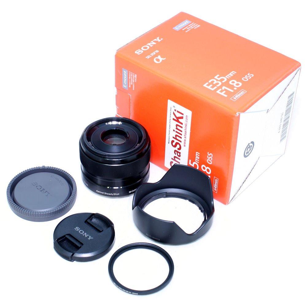 white for Sony E 35 mm 1.8 OSS Lens Cap 49mm