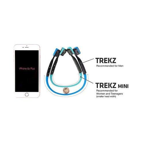 fab015d8021 AfterShokz Trekz Titanium Mini Wireless Bone Conduction Headphones (Slate  Grey)