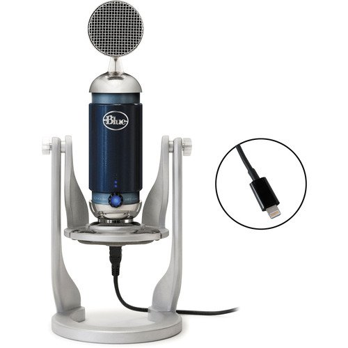 blue spark digital studio condenser usb lightning microphone for pc mac ipad shashinki. Black Bedroom Furniture Sets. Home Design Ideas