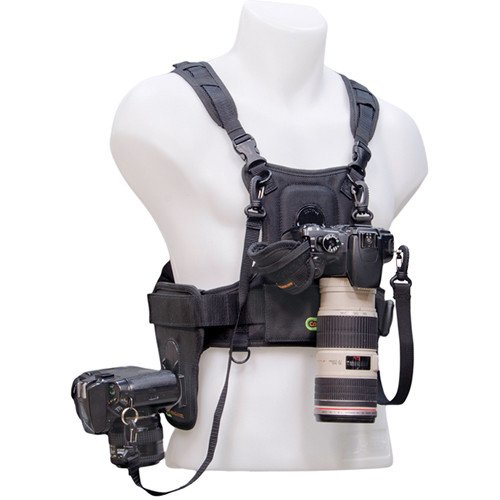 Cotton Carrier Camera Vest For All Camera Types With Side