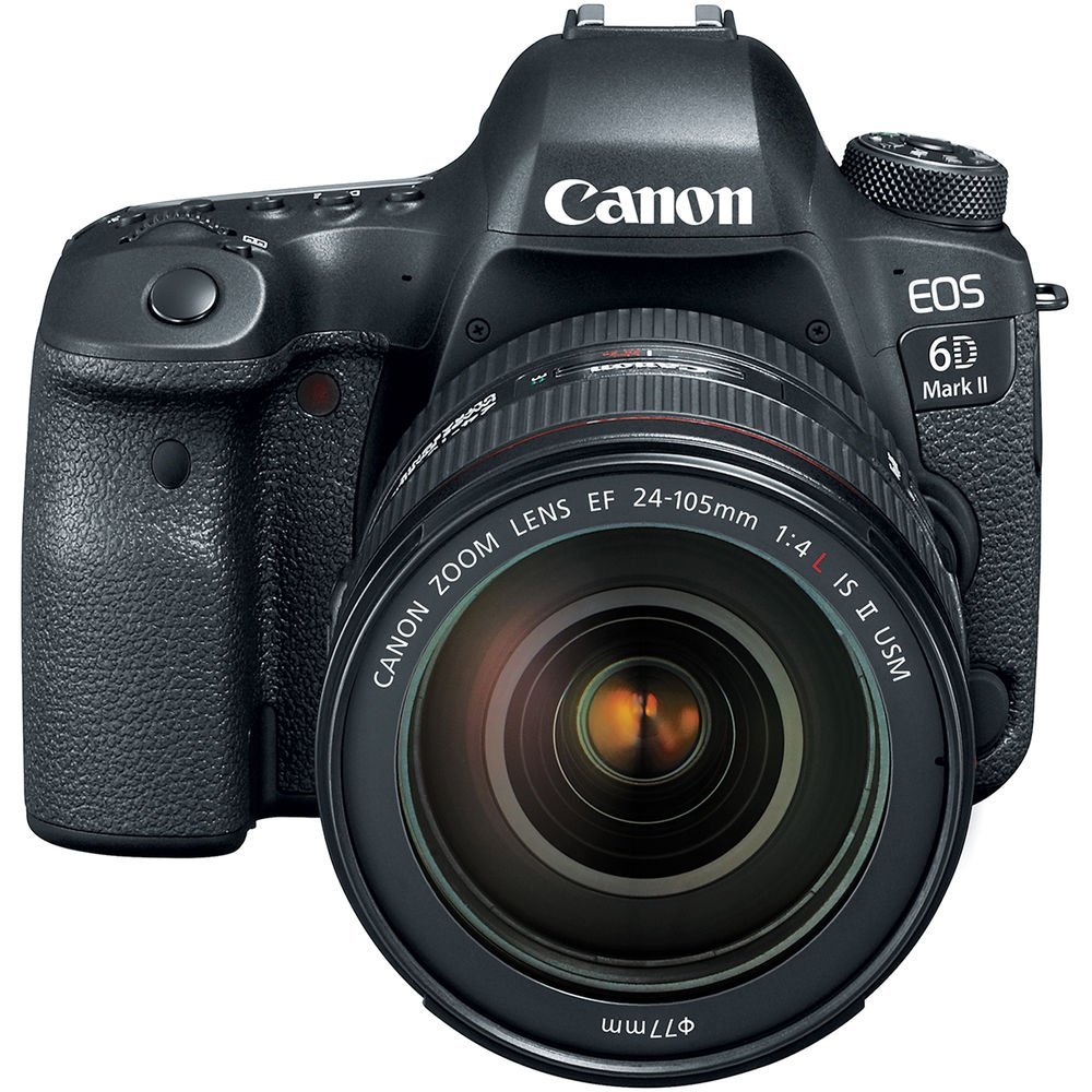 Canon EOS 6D Mark II DSLR Camera With EF 24-105mm F/4 L IS