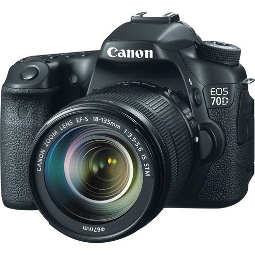 Canon EOS 700D DSLR Camera with EF-S 18-135mm f/3 5-5 6 IS