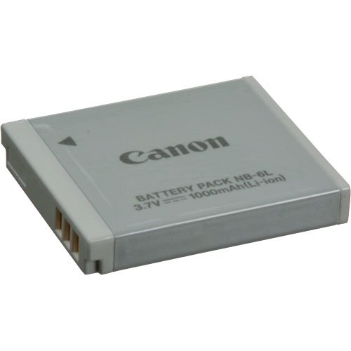 Lithium Ion Battery >> Canon NB-6L Lithium-Ion Battery (3.7v, 1000mAh)