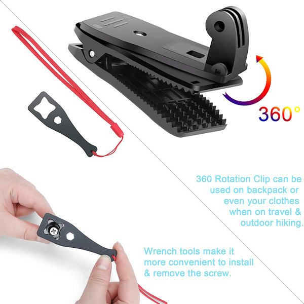 Ducame All-In-One Accessories Kit for Osmo Pocket (With Type