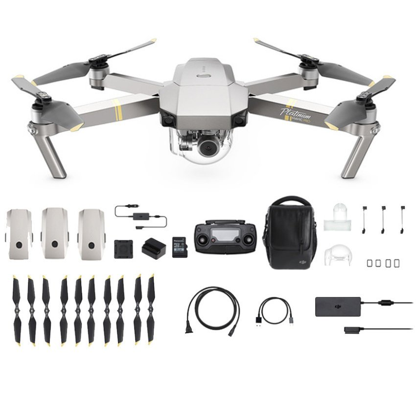 228ffdf454d DJI Mavic Pro Platinum Fly More Combo (Official DJI Malaysia ...