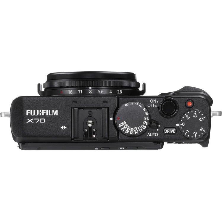 Fujifilm X70 Digital Camera (Black) (Import)