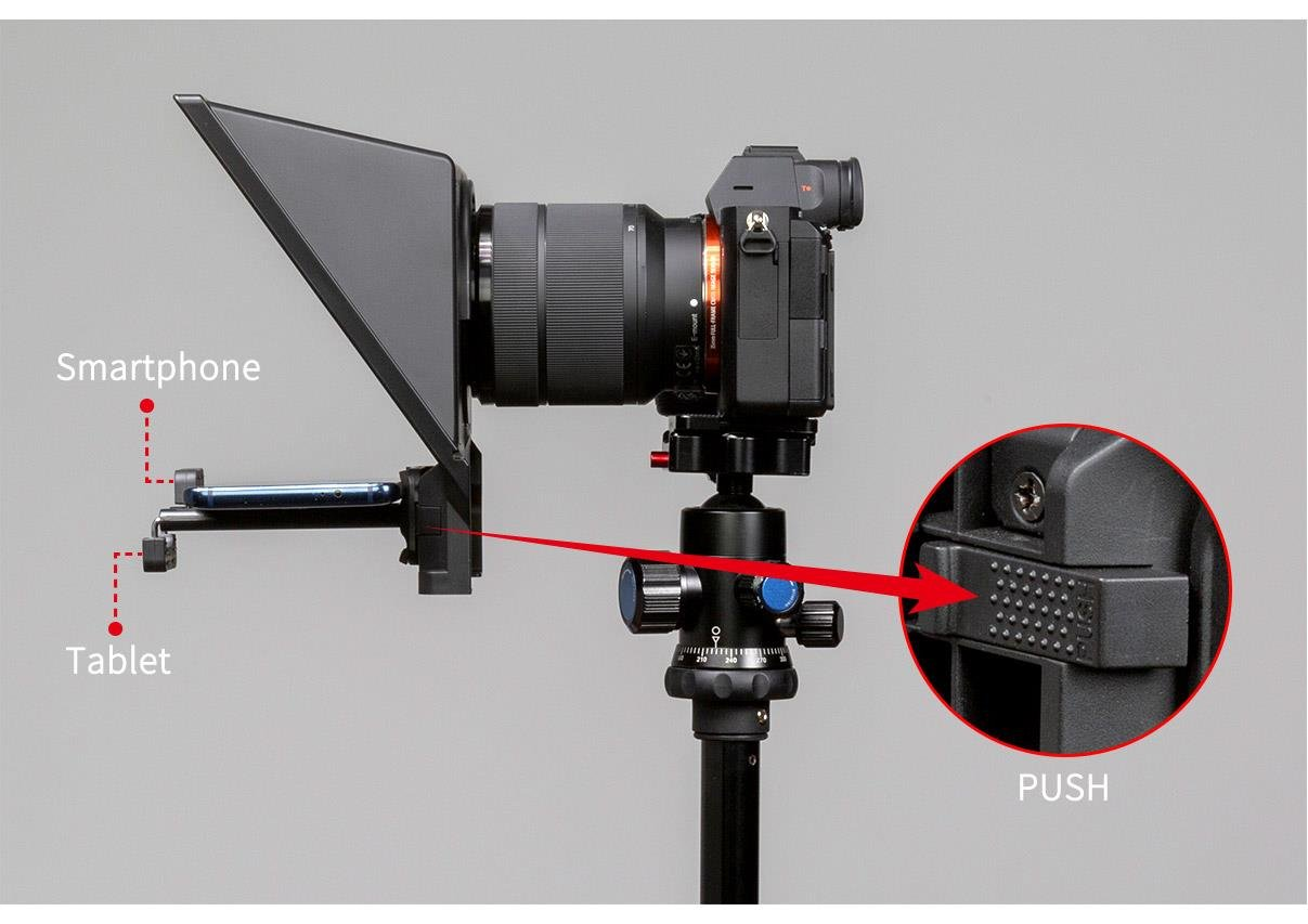 smartphone tablet clamp