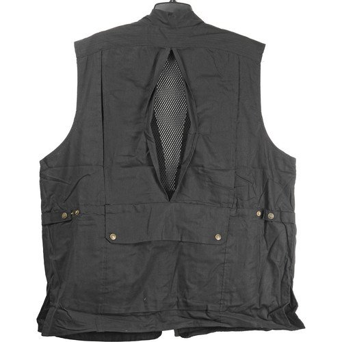 Humvee By Campco Safari Photo Vest Medium Black Shashinki