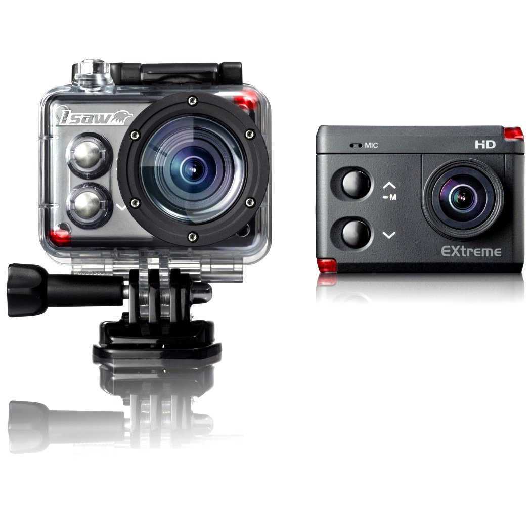 Isaw A3 Extreme Action Camera Similar To Gopro Hero 3 Black Hd 1080p 60fps 720p 120fps 480p 240fps Built In Wifi Lcd Waterproof Housing