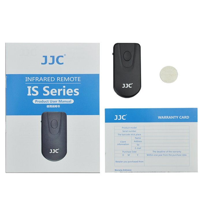 JJC IS-C1 Infrared Remote Control for Canon EOS 80D 70D 60D