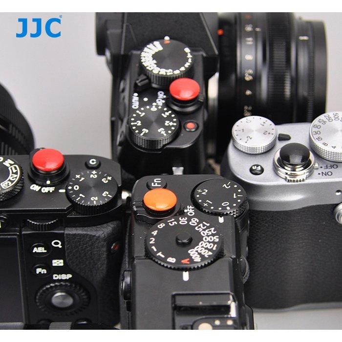 JJC SRB-B10BK Convex Black Metal Soft Release Button for Leica