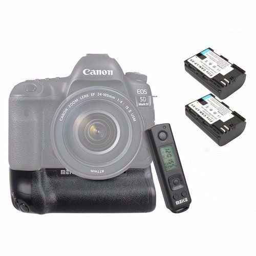 8916e6e8364e31 Meike MK-5D4 Pro Battery Grip With Built-in 2.4GH Remote Controller for  Canon 5D Mark IV Digital Camera   ShaShinKi Malaysia First   Largest Online  Camera ...