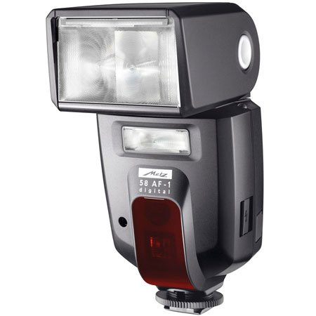 used metz 58 af 1 ttl shoe mount flash guide no 138. Black Bedroom Furniture Sets. Home Design Ideas