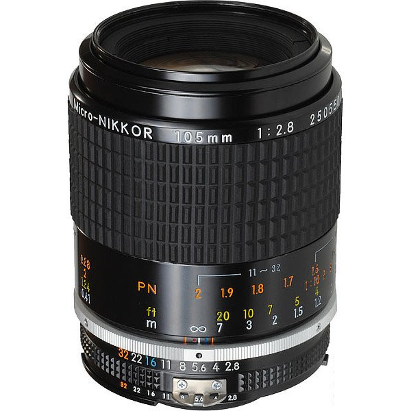 Nikon 105mm f/2 8 Micro-Nikkor Ai-S Manual Focus Lens (Nikon
