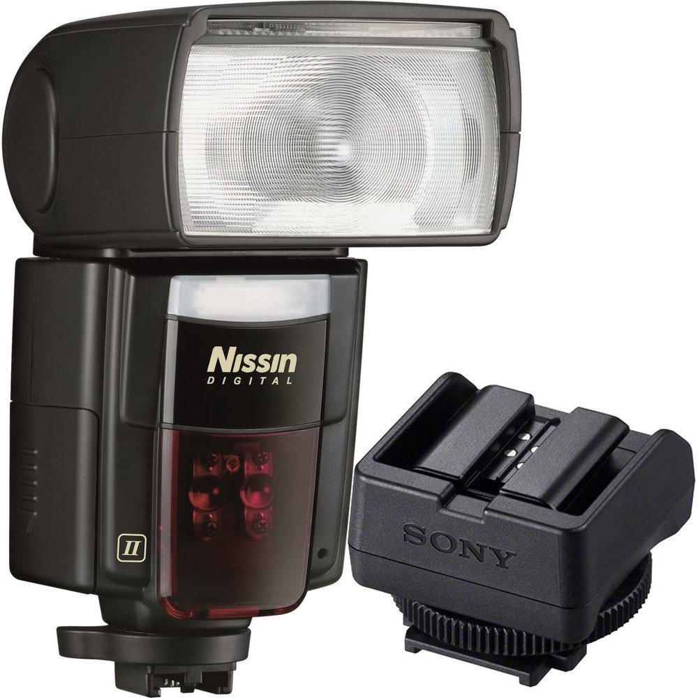 Nissin Di866 Mark II Flash + Sony ADP-MAA Multi-Interface