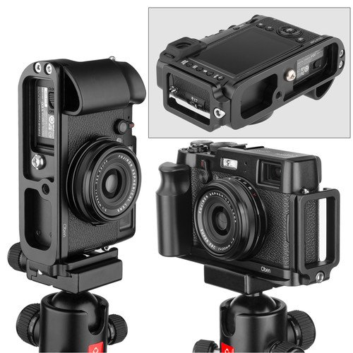 Oben Camera Grip with Arca Plate for Fujifilm X100 & X100S