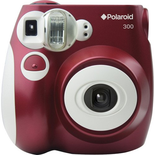 Polaroid 300 Instant Film Camera (Red) | ShaShinKi Malaysia