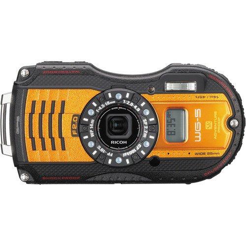 Ricoh WG-5 GPS Digital Camera (Orange) (Import) | ShaShinKi