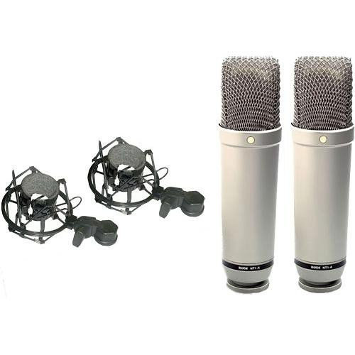rode nt1a mp matched pair of nt1a cardioid studio condenser microphones shashinki malaysia. Black Bedroom Furniture Sets. Home Design Ideas
