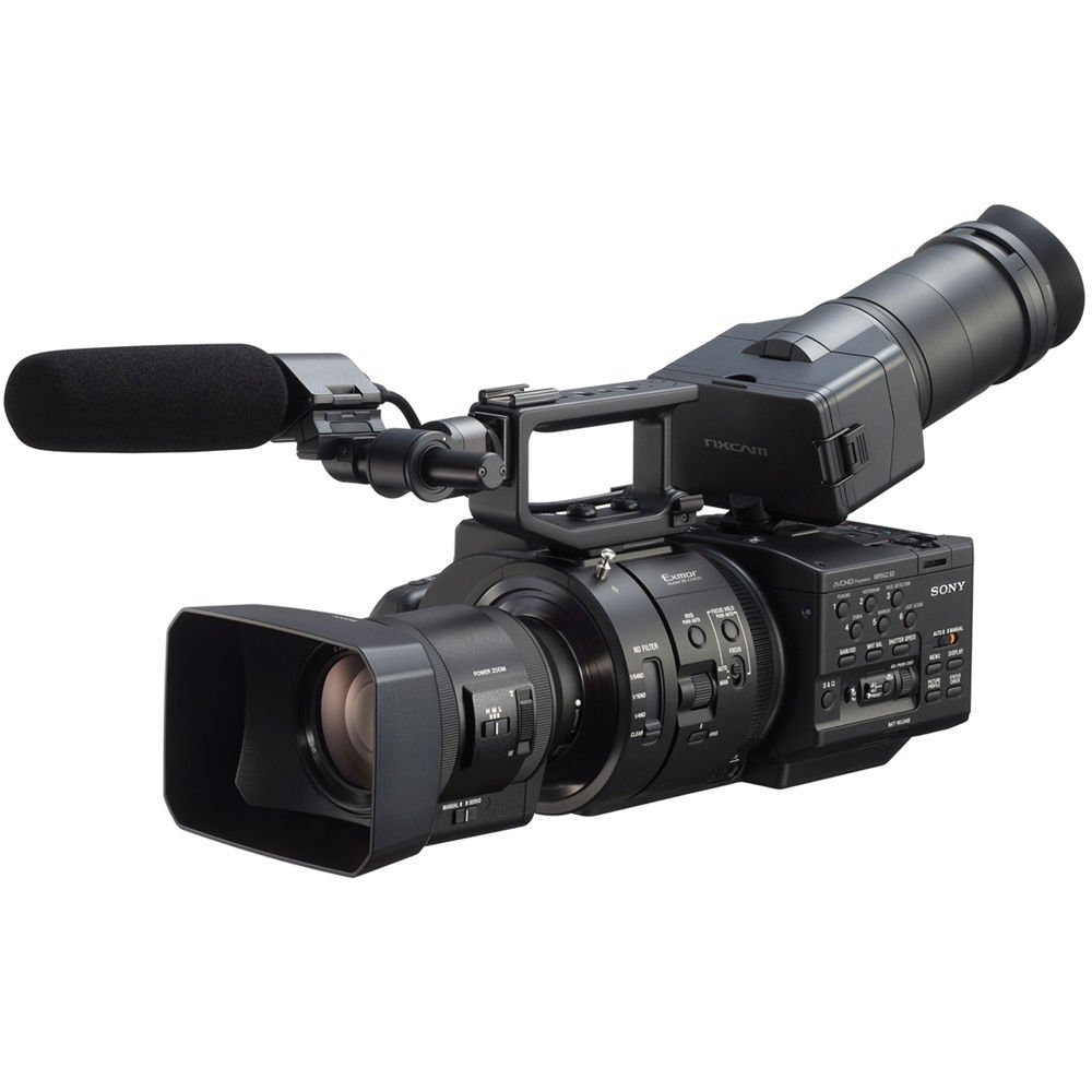 Professional Video Camcorders Sony Hdr Pj675 Full Hd Handycam Camcorder Built In Projector Pal Nex Fs700r Super 35 With 18 200mm F 63