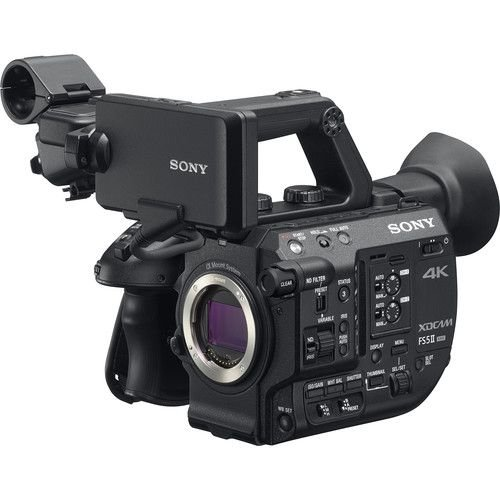 Sony PXW-FS5M2 4K XDCAM Super 35mm Compact Camcorder (Import)