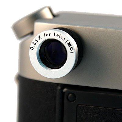 ShaShinKi 0 85x Viewfinder Magnifier for Leica (Silver
