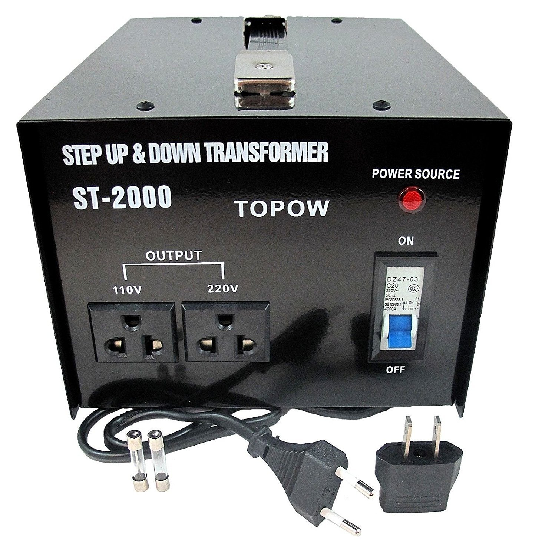 TOPOW ST-2000 Step Up / Down Transformer (2000W) (Change ...