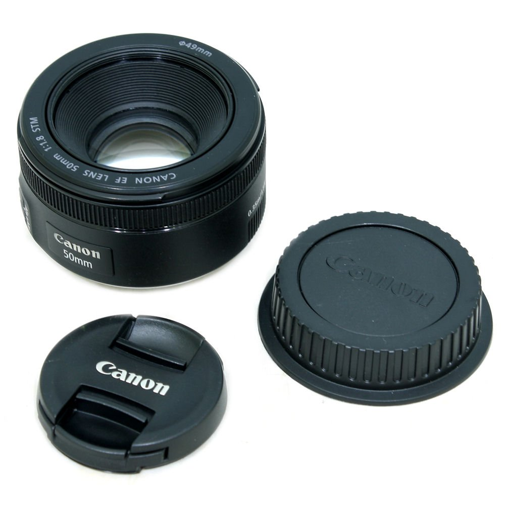 Used Canon Ef 50mm F 18 Stm Lens S N 4115207736 Near New Condition