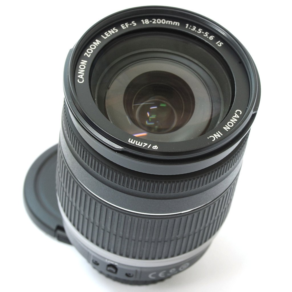 how to clean dust inside front lens of canon 18-200mm