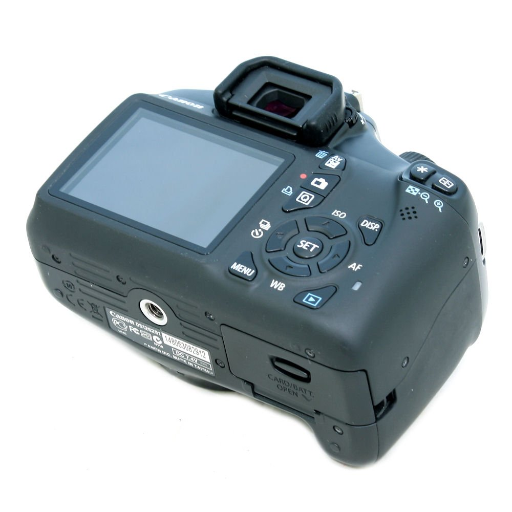 USED] Canon EOS 1100D DSLR Camera with EF-S 18-55mm f/3 5